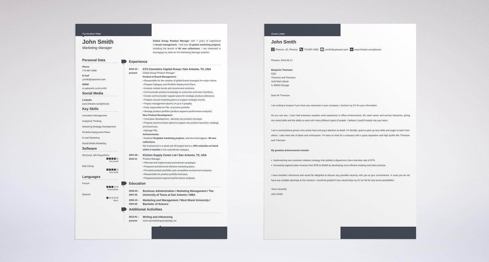 best executive resume template level examples styles for executives cover letter and an Resume Resume Styles For Executives