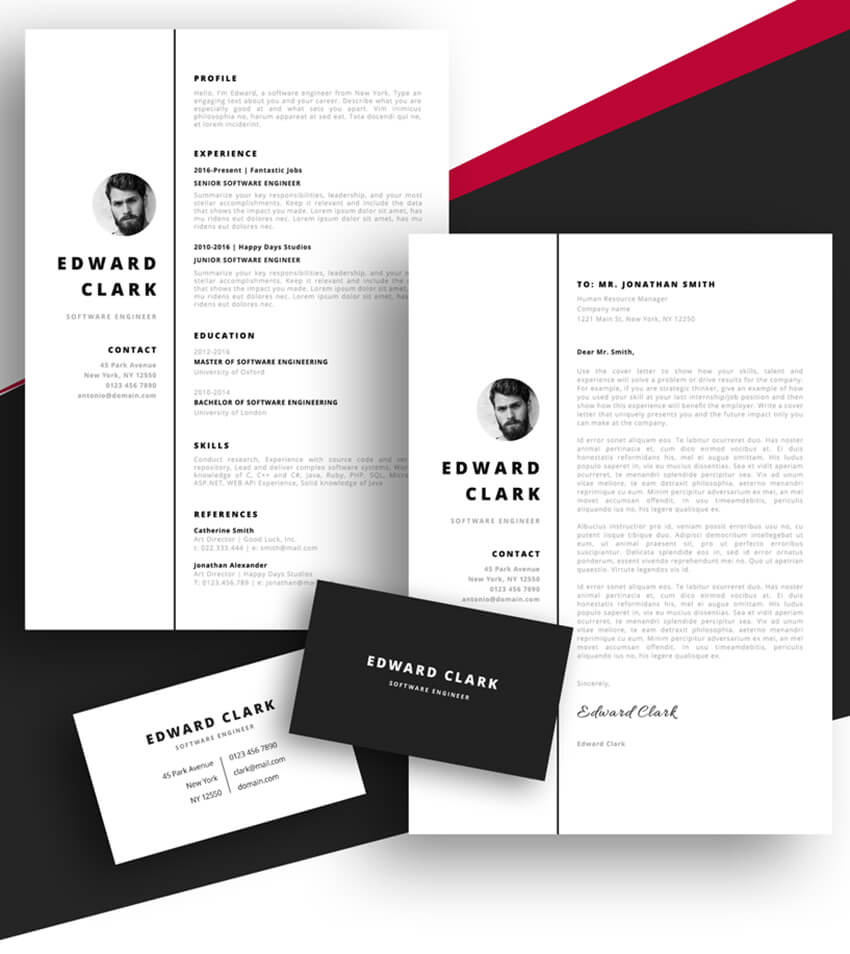 best free ms word resume cv templates for mac meet edward cleaning objective pharmacy Resume Resume Templates 2020 Free