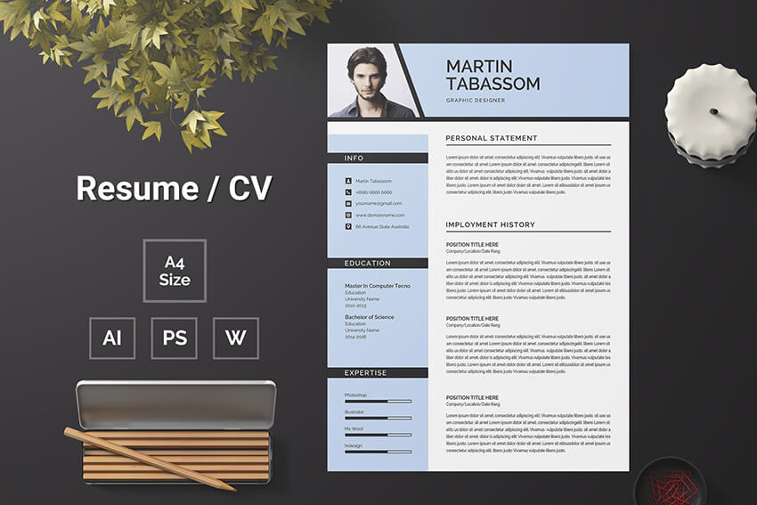 best free ms word resume cv templates for mac microsoft one template and example open Resume Microsoft Word One Page Resume Template