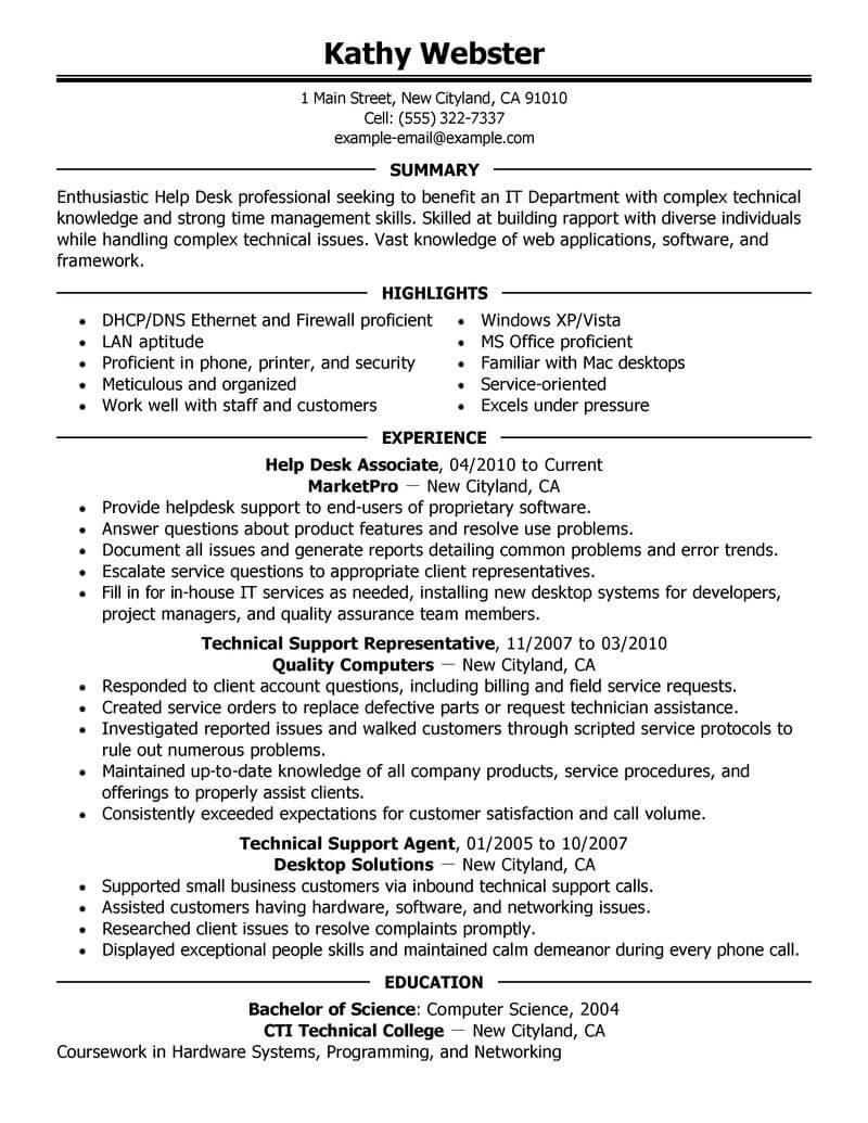 best help desk resume example livecareer support computers technology executive shidduch Resume Help Desk Support Resume