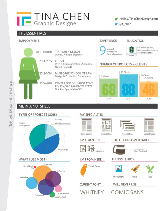 best infographic resumes monster resume template with pie chart graphicdesignerresume Resume Resume Template With Pie Chart