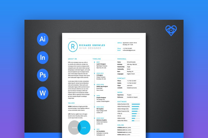 best one resume templates simple to use format examples free template cleanresumetemplate Resume Free Cascade Resume Template