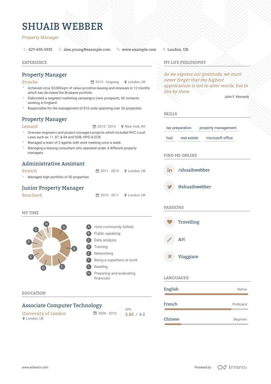 best property manager resume examples with objectives skills templates apartment example Resume Apartment Property Manager Resume Example