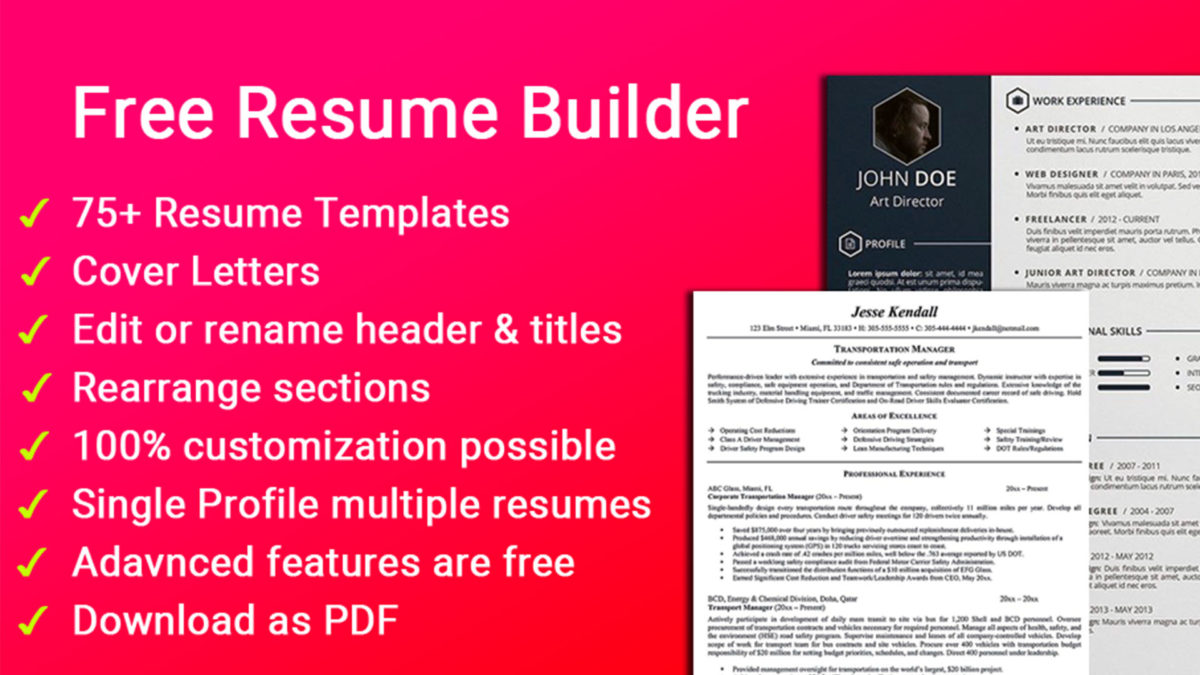 best resume builder apps for android authority free and aristoz screenshot 1200x675 Resume Free Resume Builder And Free Download