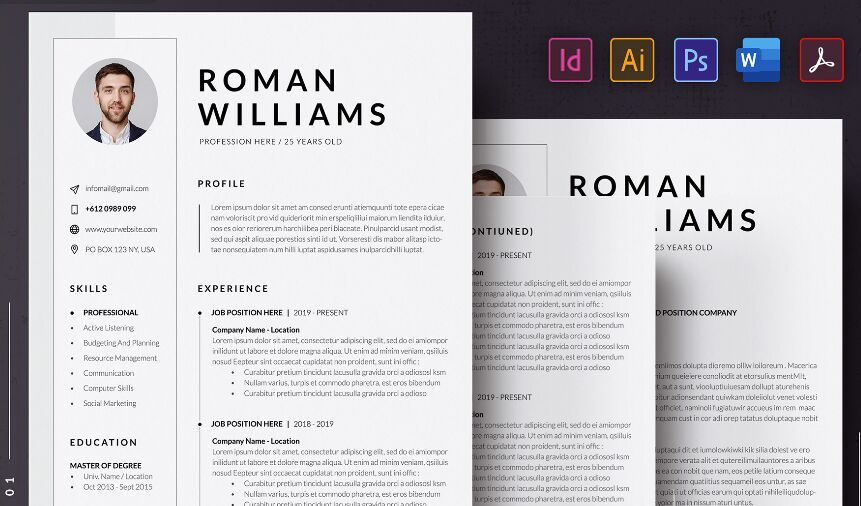 best resume cv templates for free update web resources template resumecvcover letter Resume Free Template Resume 2020