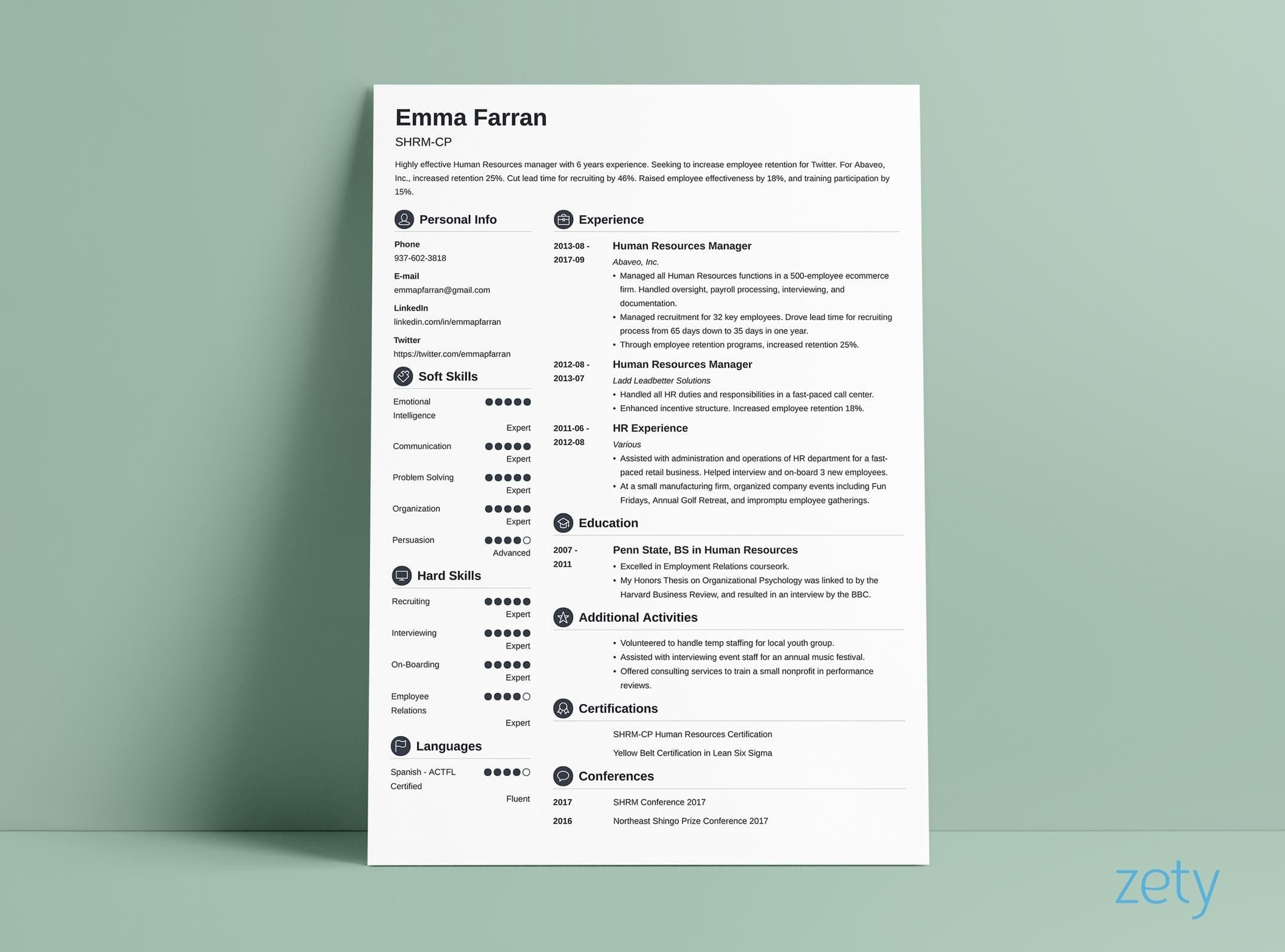 best resume layouts examples from idea to design does format matter layout salesperson Resume Does Resume Format Matter