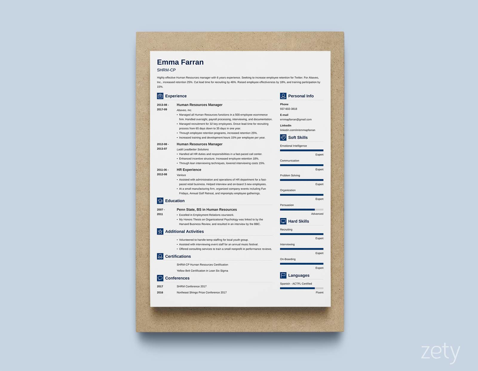 best resume templates for top picks to zety template pats fireman job description entry Resume Zety Resume Template Download