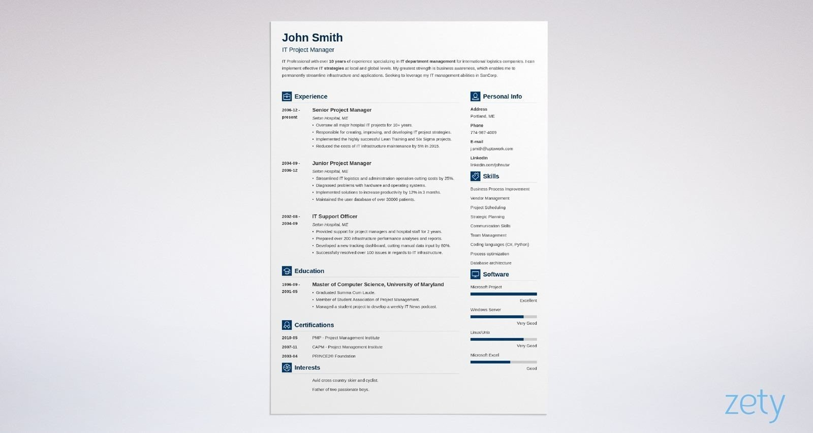 best resume templates for top picks to zety template vibes follow up with recruiter after Resume Zety Resume Template Download