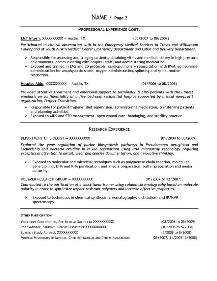biology student resume examples best biochemistry 3o interview format for freshers Resume Biochemistry Student Resume