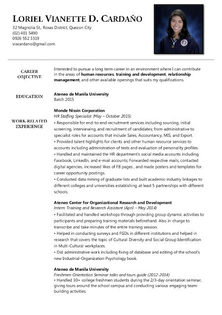 business administration resume samples examples job description adjectives and adverbs Resume Business Administration Job Description Resume