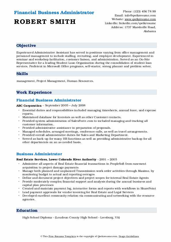business administrator resume samples qwikresume for administration position pdf security Resume Resume For Business Administration Position