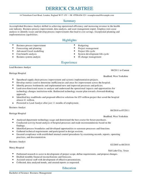 business analyst cv template samples examples resume profile summary for full moo Resume Resume Profile Summary For Business Analyst
