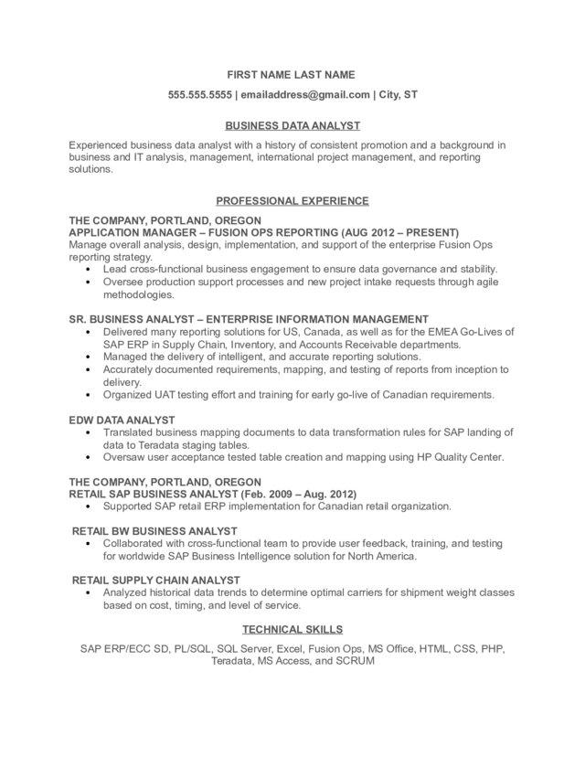 business data analyst resume reporting administrative assistant objective international Resume Reporting Analyst Resume