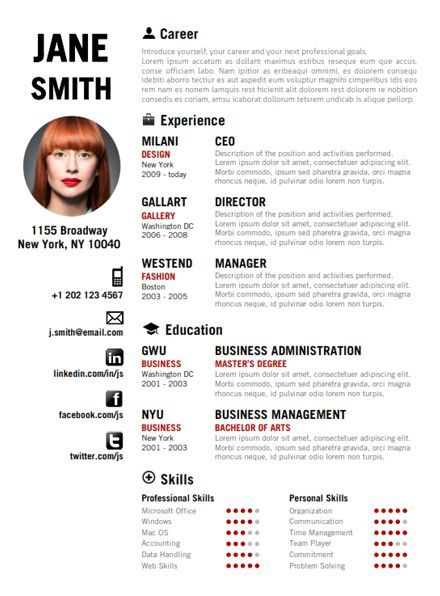 business infographic creative resume templates cv template design of ceo google entry Resume Resume Of Ceo Of Google