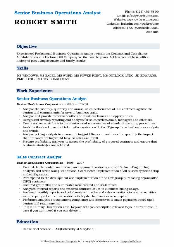 business operations analyst resume samples qwikresume associate pdf post production Resume Business Operations Associate Resume