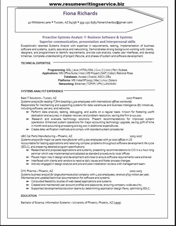 business system analyst resume fresh systems sample sap test special skills for broker Resume Sap Test Analyst Resume