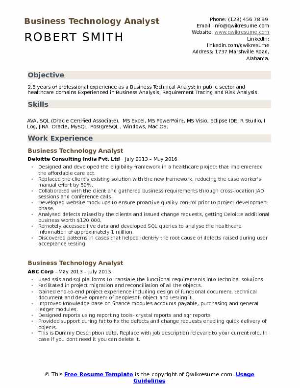 business technology analyst resume samples qwikresume healthcare domain project Resume Healthcare Domain Project Description For Resume