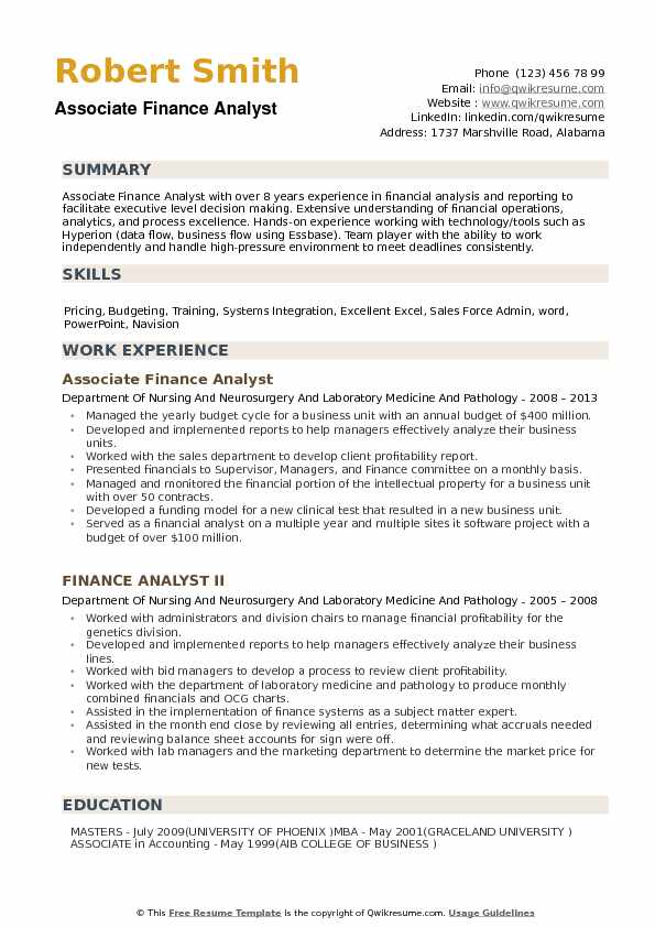 by financial analyst resume samples format objective call center representative example Resume Financial Analyst Resume Objective