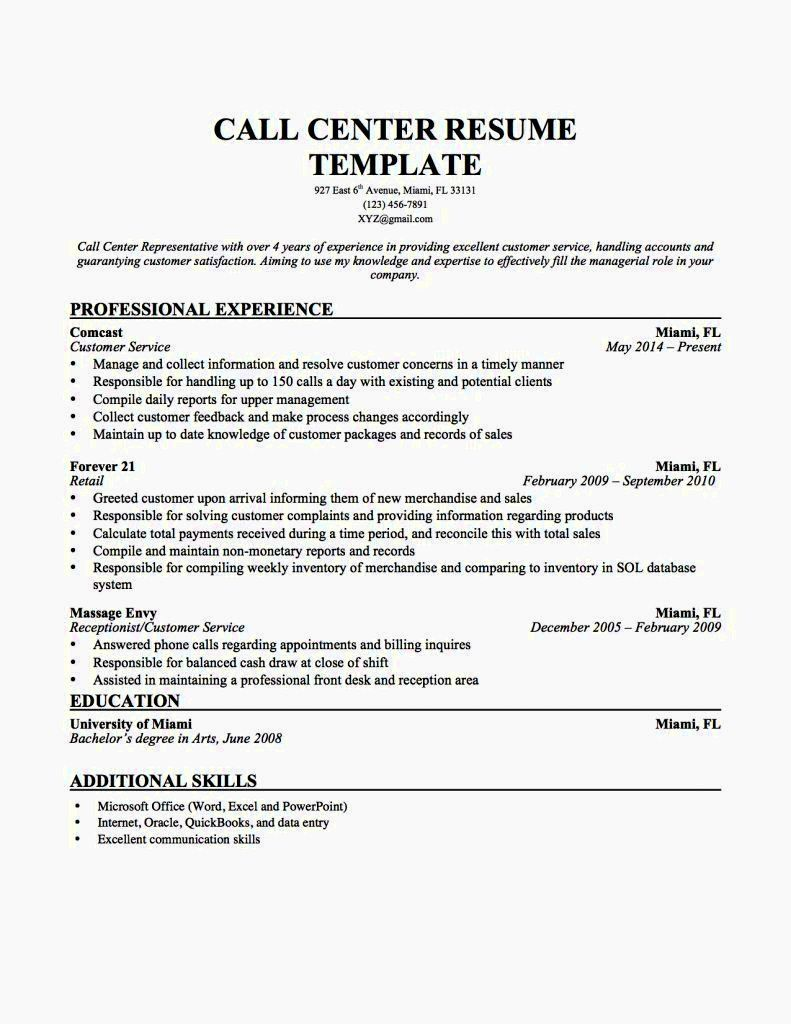 call center job description customer service for resume paper interview resident aide Resume Customer Service Job Description For Resume