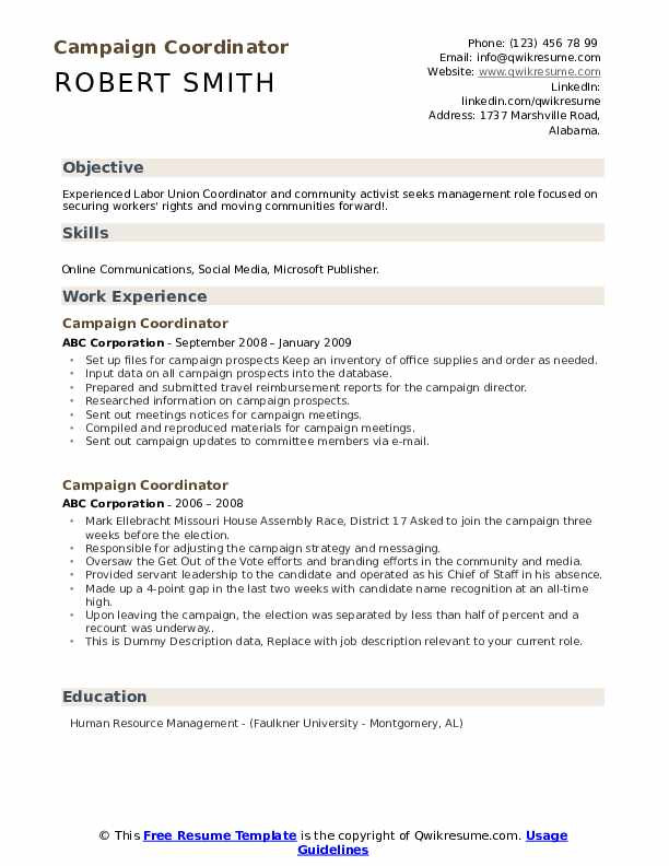 campaign coordinator resume samples qwikresume human rights activist pdf skills and Resume Human Rights Activist Resume