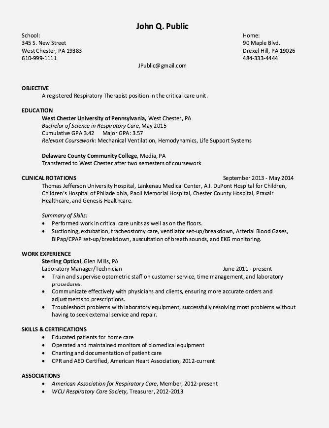 career resume examples entry level classic in respiratory therapist perfect example Resume Entry Level Respiratory Therapist Resume Example