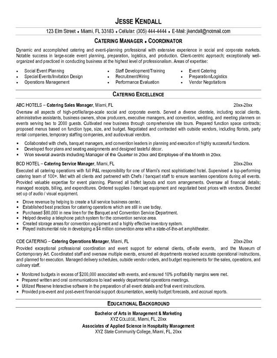 catering resume example of cateringbc20 adobe core functional cover letter vs career fair Resume Example Of Catering Resume