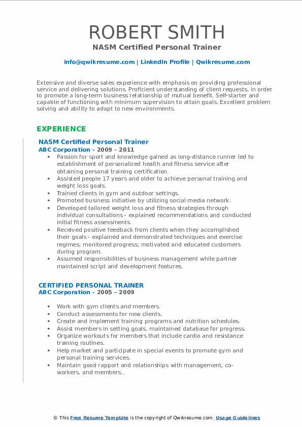 certified personal trainer resume samples qwikresume duties pdf product manager sample Resume Personal Trainer Duties Resume