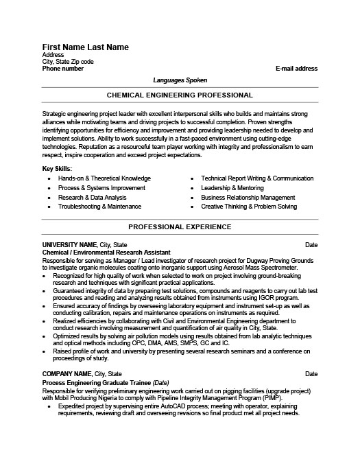 chemical engineer resume template premium samples example engineering sap bods consultant Resume Chemical Engineering Resume