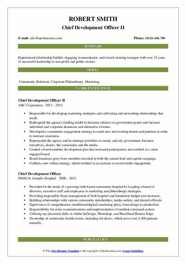 chief development officer resume samples qwikresume pdf network engineer with year Resume Chief Development Officer Resume