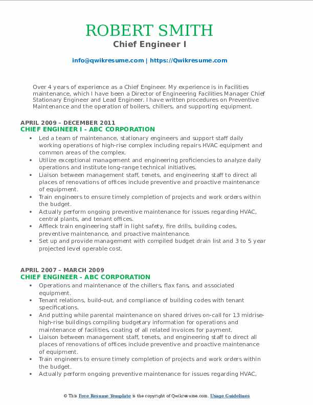 chief engineer resume samples qwikresume marine sample pdf writing tips for older Resume Marine Chief Engineer Resume Sample