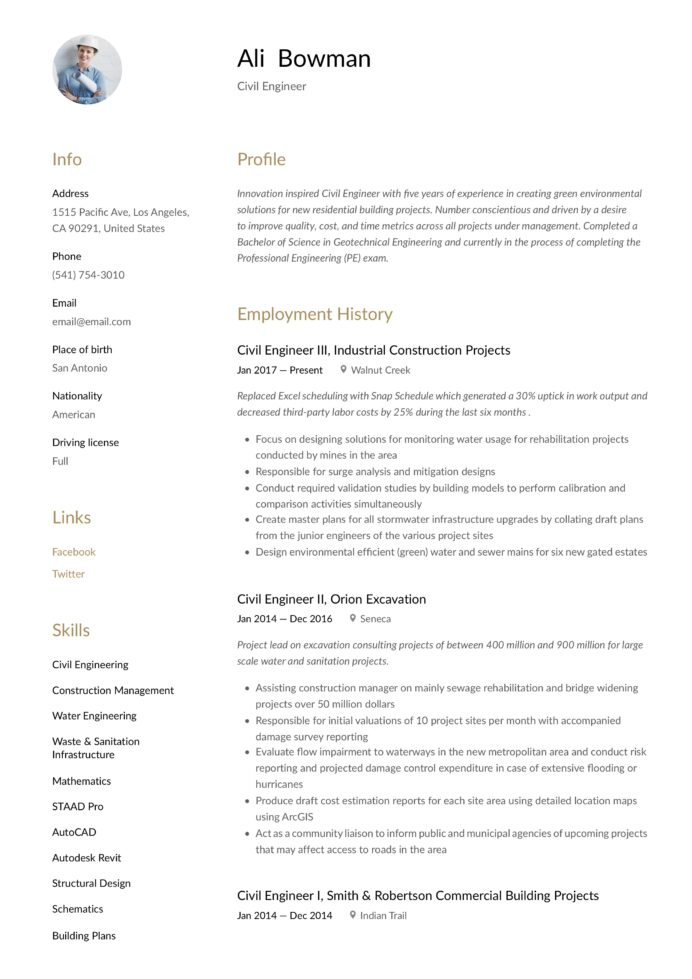 civil engineer resume writing guide templates geotechnical legal office manager wording Resume Geotechnical Engineer Resume