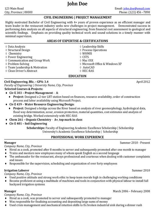 civil engineering project management resume template premium samples projects templates Resume Crisis Management Skills Resume