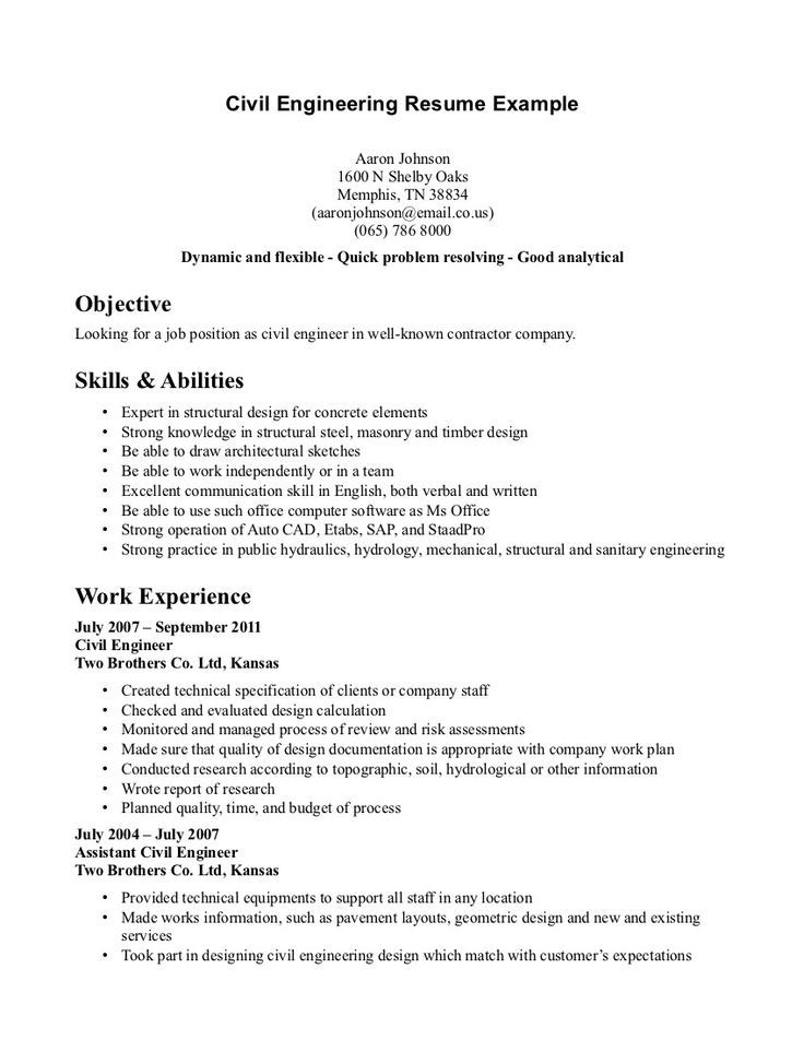 civil structural engineer resume sample best examples objective for engineering student Resume Objective For Civil Engineering Student Resume