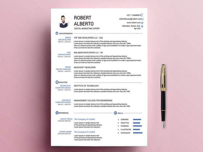 classic resume template free with formats resumekraft latest professional format 1000x750 Resume Latest Professional Resume Format Free Download