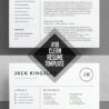 clean and minimal resume templates design graphic junctiongraphic junction modern simple Resume Modern Simple Resume Template
