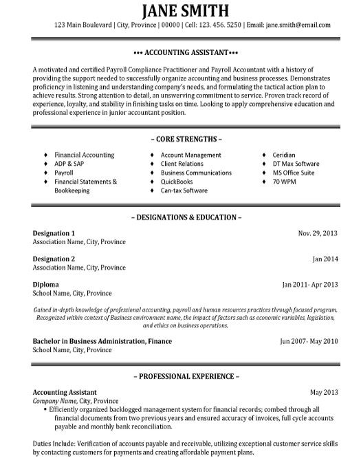 click here to this accounting assistant resume template http resumetemplates101 student Resume Full Cycle Accounts Payable Resume