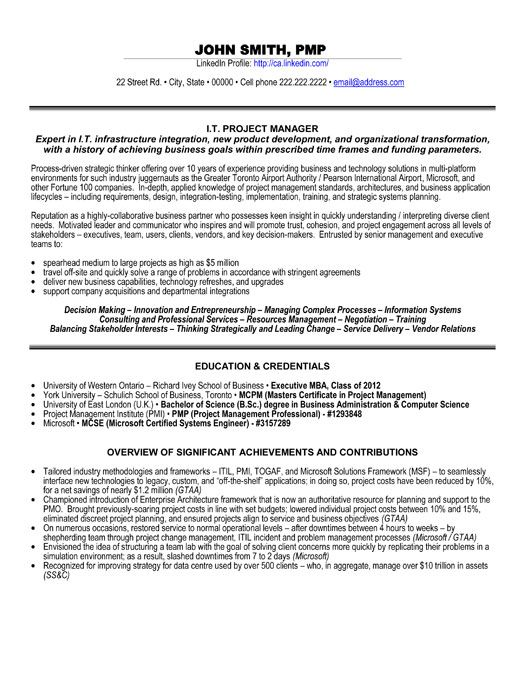 click here to this it project manager resume template http resumetemplates101 info job Resume Sap Service Delivery Manager Resume