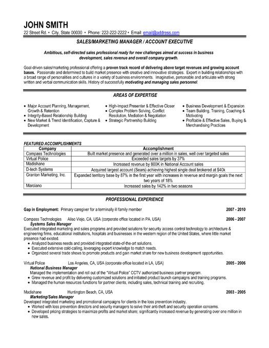 click here to this or marketing manager resume template http resumetemplates101 examples Resume Areas Of Growth For Resume