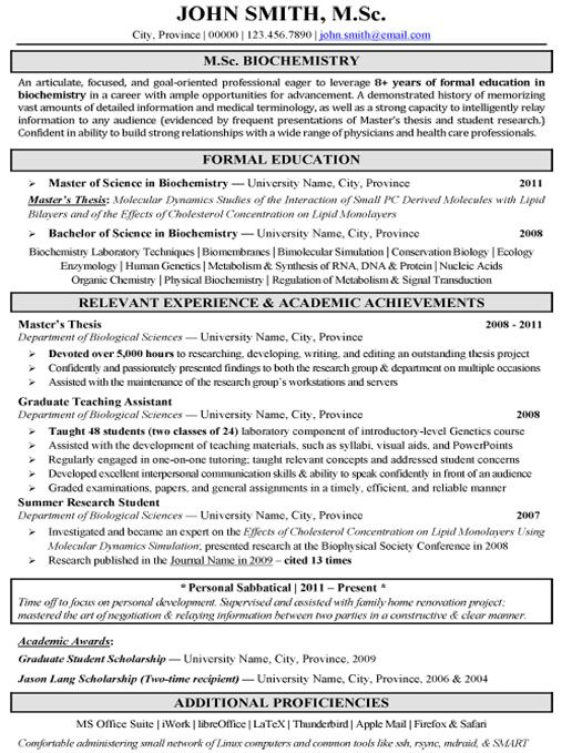 click here to this pharmaceutical biochemistry research resume template http medical Resume Biochemistry Student Resume