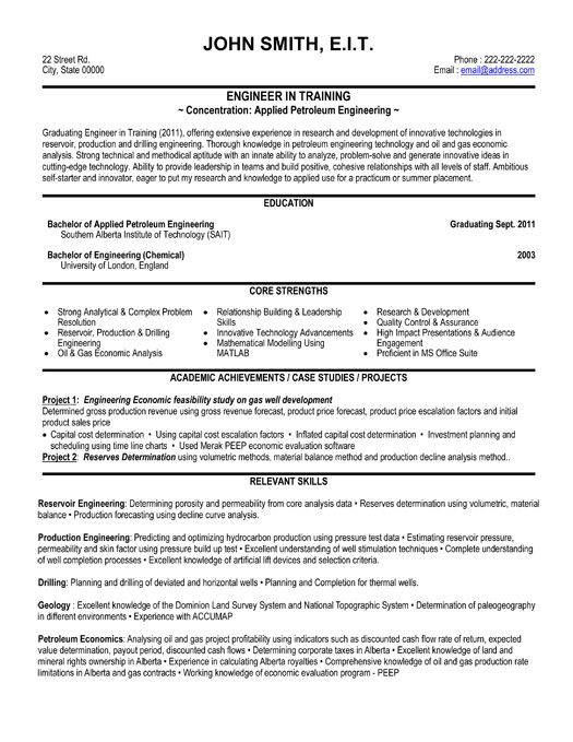click here to this training engineer resume template http resumetemplates101 engin Resume Technical Resume Template