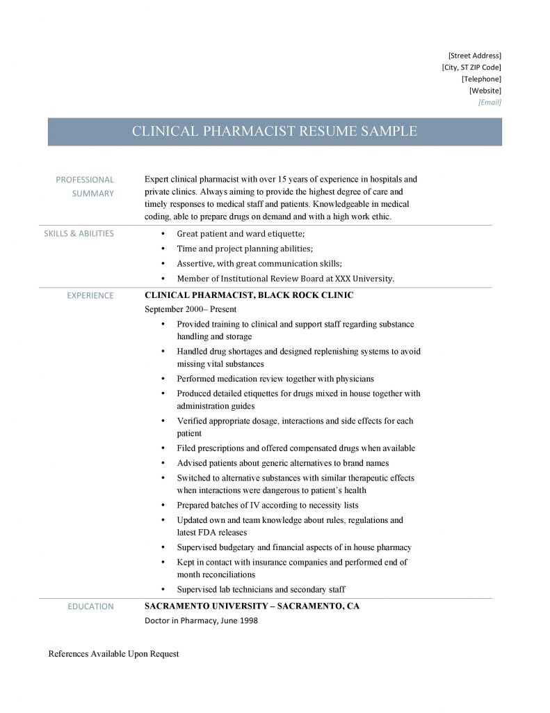 clinical pharmacist resume samples by builders medium hospital yuajfej2mpgbptw engg Resume Hospital Pharmacist Resume