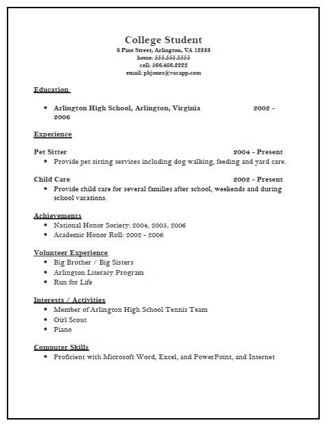 college admission resume template yes we do have application for high school trade Resume Resume For College Admission
