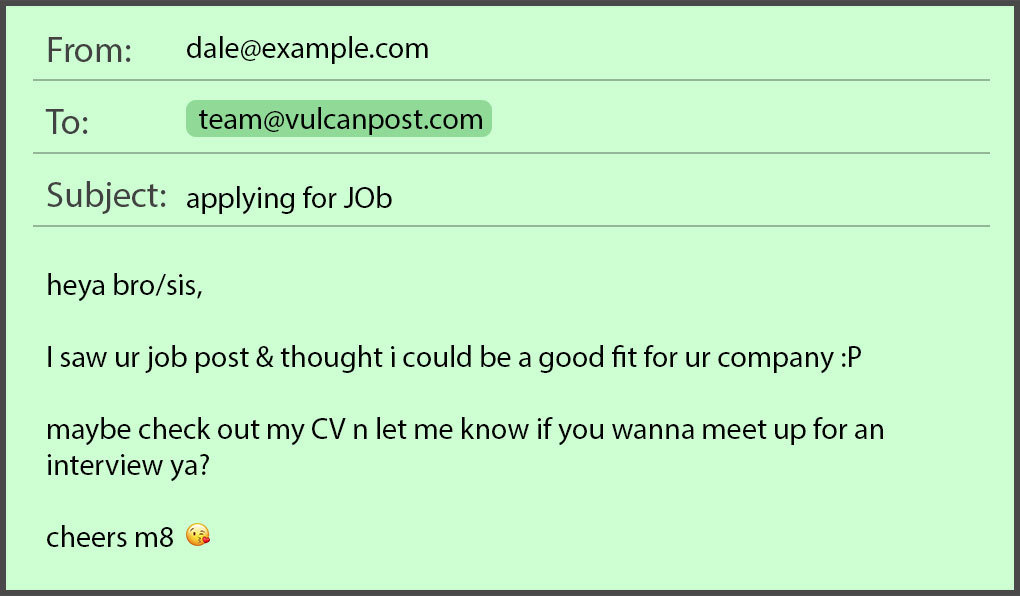 common job application mistakes in emails resumes by seekers submitting your resume via Resume Submitting Your Resume Via Email