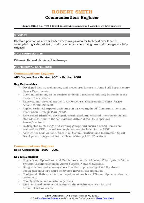 communications engineer resume samples qwikresume packet core pdf clean professional Resume Packet Core Engineer Resume