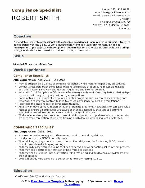 compliance specialist resume samples qwikresume political science objective examples pdf Resume Political Science Resume Objective Examples