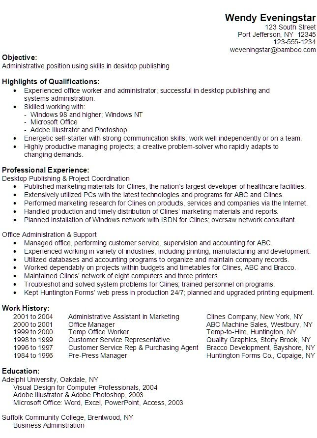 computer skills resume administrative assistant assista functional office and for hotel Resume Office And Computer Skills For Resume