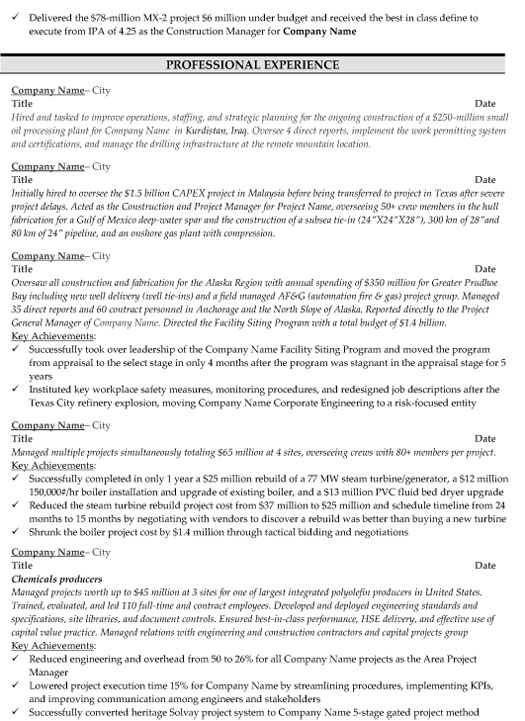 construction manager resume sample template examples ndt after school program job Resume Construction Manager Resume Examples