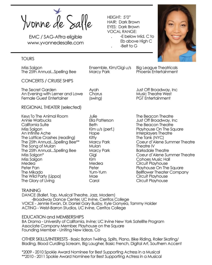 convert your headshot and resume into pdf by bondesal format server examples restaurant Resume Headshot And Resume Format