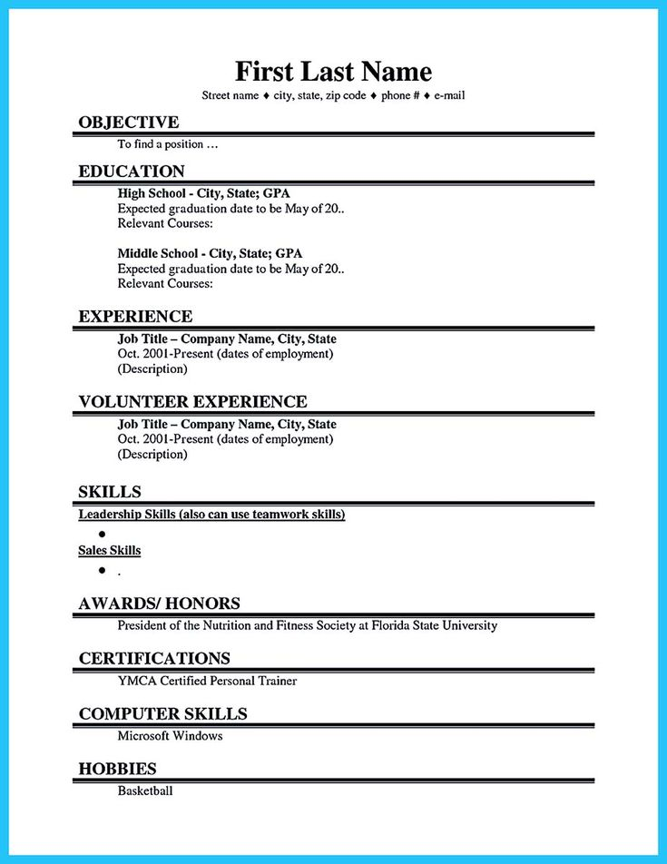 cool best current college student resume with no experience templates template students Resume Best College Student Resume Template