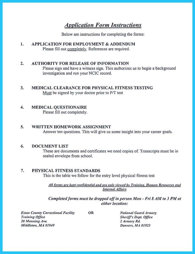 correctional officer resume no experience job examples teacher entry level well testing Resume Entry Level Correctional Officer Resume